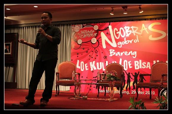 Ngobrol Bareng Telkomsel di Bandar Lampung