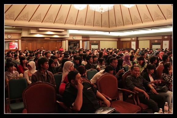 Mahasiswa Lampung Peserta Ngobrol Bareng Telkomsel