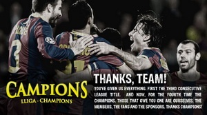 FC Barcelona Juara Liga Champions 2010-2011