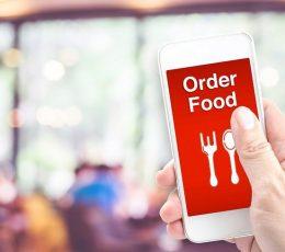 Order Makanan Online via Aplikasi Food